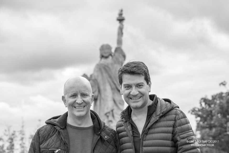 Michael & Scott from the #RosterAgency (in NYC)