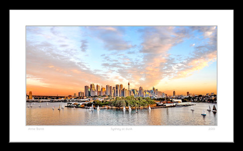 Anne Barot_Sydney at sunset_Borders 2 si