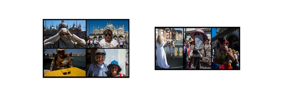 Retratos de turistas e venezianos 2018/19