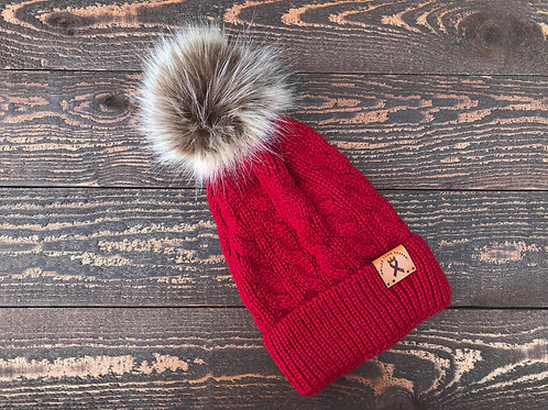 Single Pom Toddler Beanie