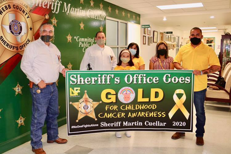 Sheriff's Office Goes Gold