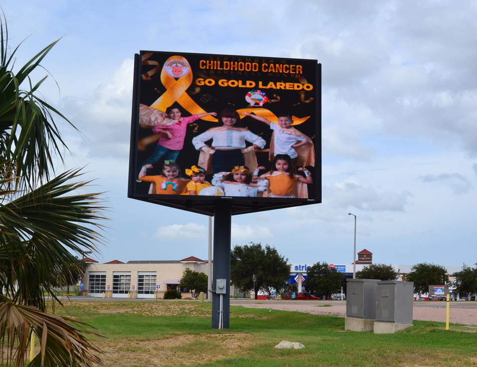 Go Gold Laredo Arena Billboard