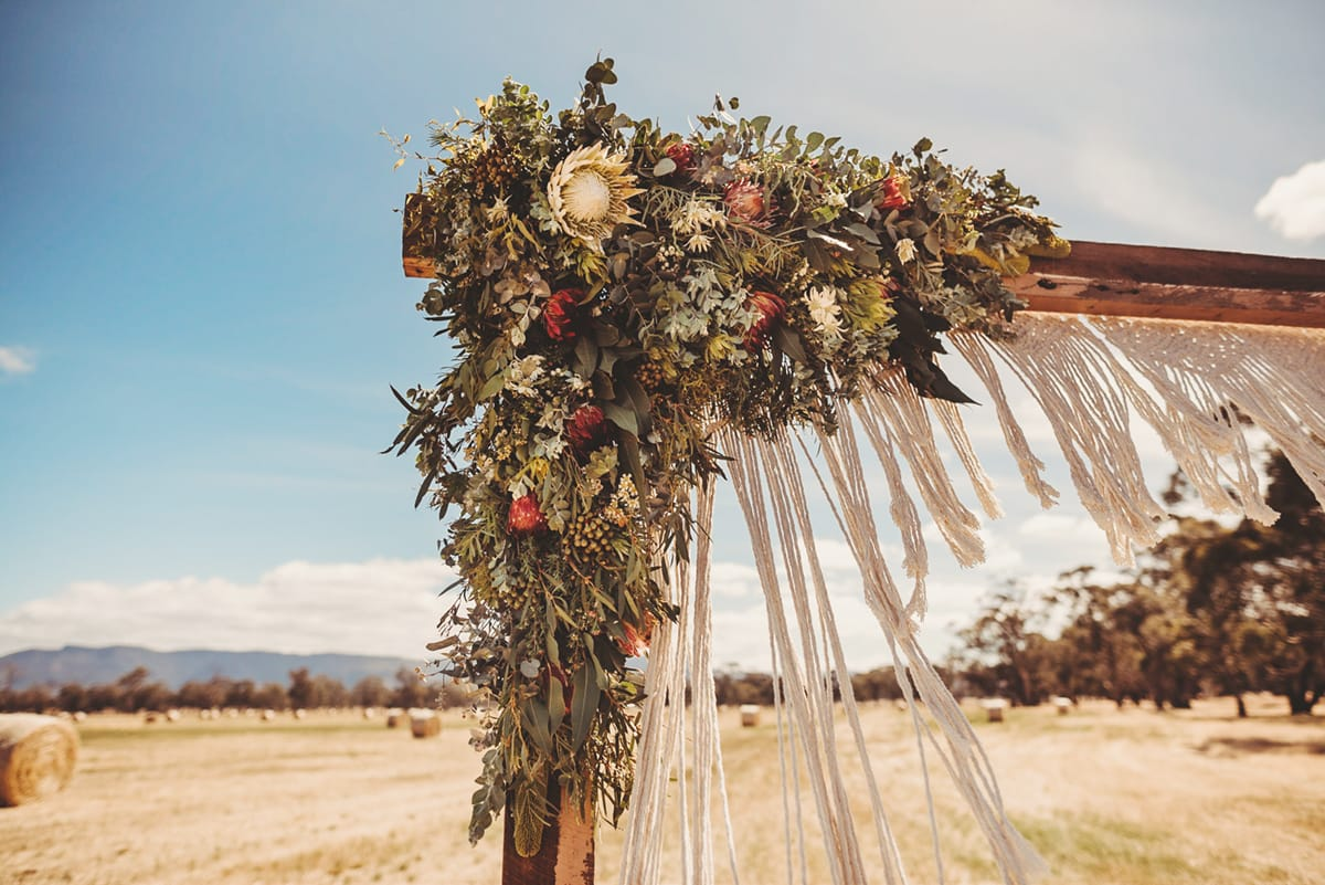 Halls Gap Wedding Flowers