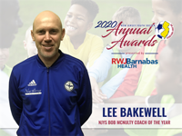 TSF Academy Coach Lee Bakewell, 2020 NJYS Bob McNulty Coach of Year Award