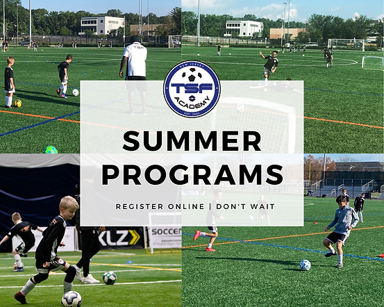 TSF Academy Soccer Camps in New Jersey