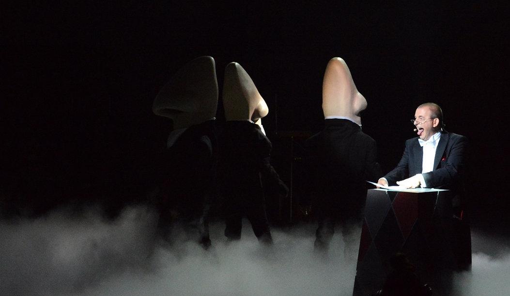 Judith Stoletzky Werbung Editoria Bücher, Konzept Henri Nannen Preis Award Show 2014  Dominique Horwitz