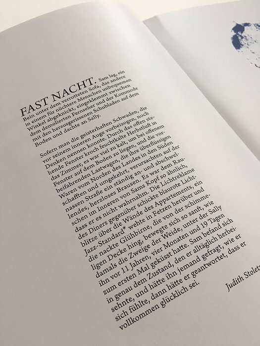 Judith Stoletzky Konzept Creativ Direction Copywriting  Werbung Editorial Buch