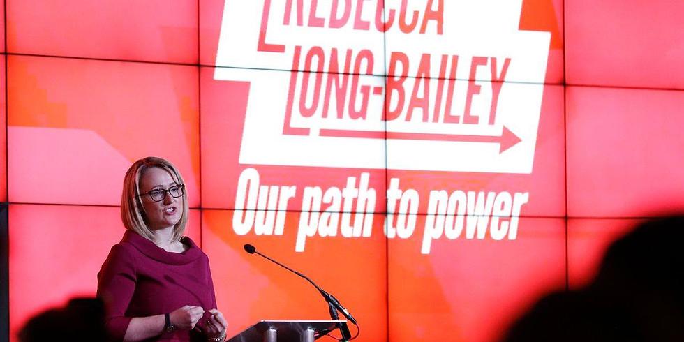 Rebecca Long-Bailey Rally