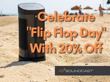 Celebrate Flip Flop Day With 20% OFF
