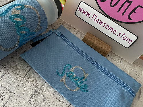 Back to school pencil case personalised