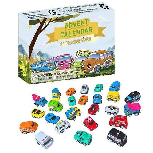 Car advent calendar