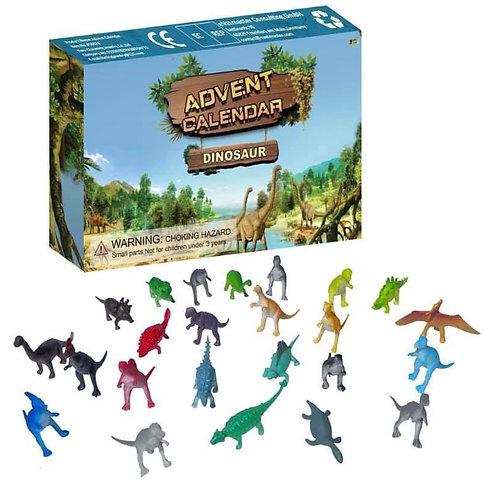 Dinosaur advent calendar