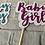 Thumbnail: Cupcake Topper Baby Girl or Baby Boy x12