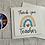 Thumbnail: Rainbow teachers card