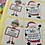 Thumbnail: X9 set of personalised gift stickers