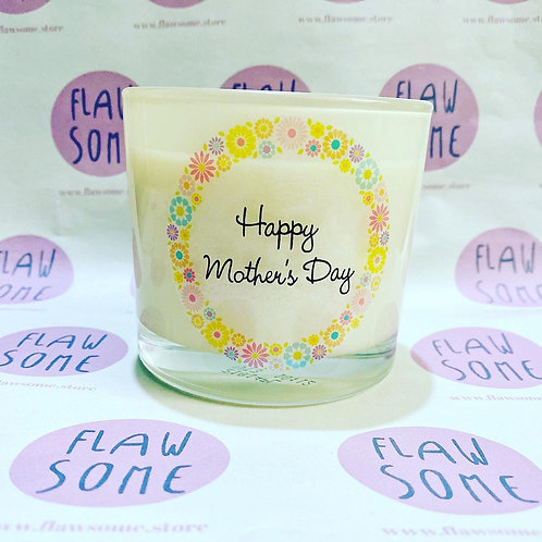 Mother's Day Vanilla Candle