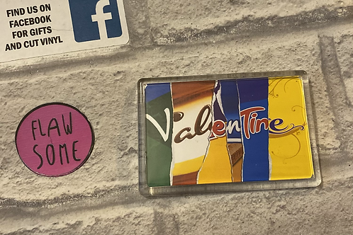 Valentines magnet