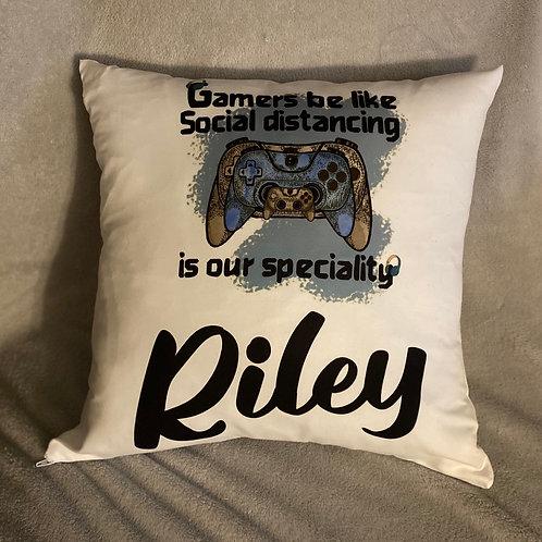 Gaming cushion-Social distancing