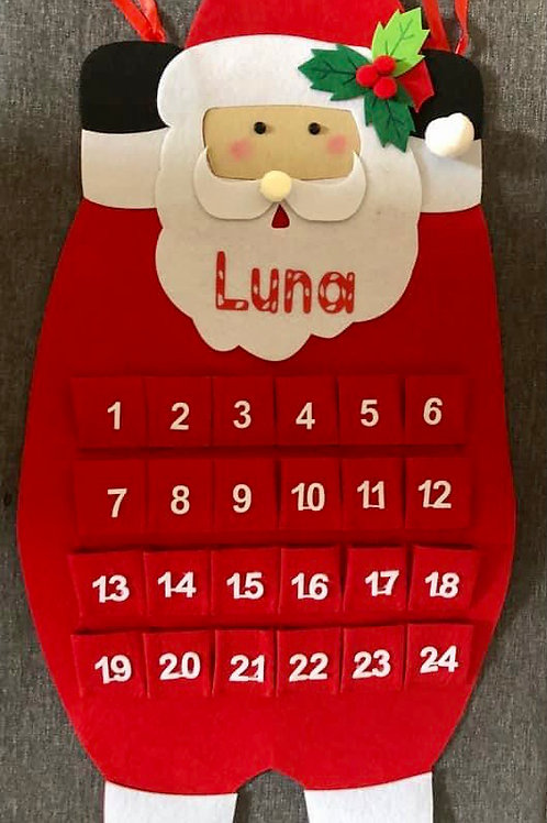 Fillable Advent Calendars -Personalised