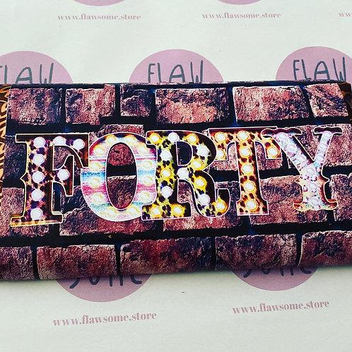 ANY Word (BRICK DESIGN) Chocolate bar