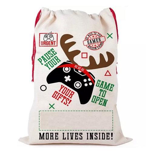 Gaming Christmas sack