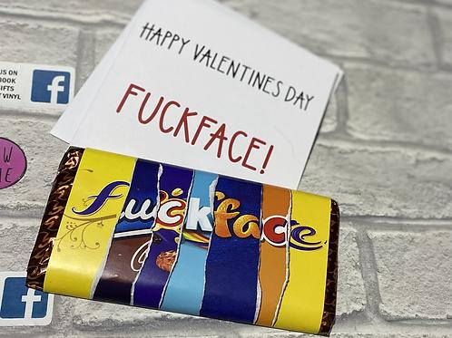Chocolate Bar & Card Sets