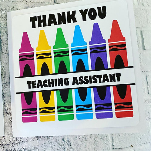 Teacher/Teaching Assistant card
