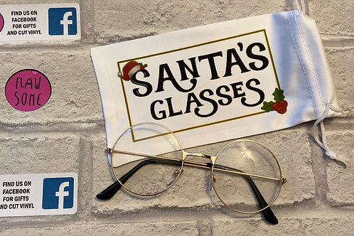 Santa's left his glasses and case behind!!