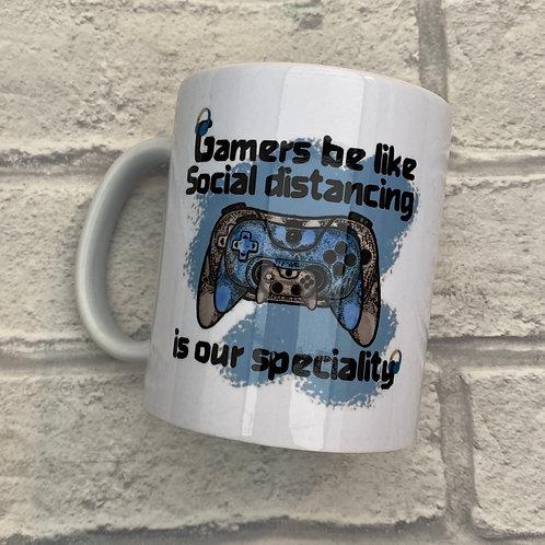 Gaming-Social distancing mug