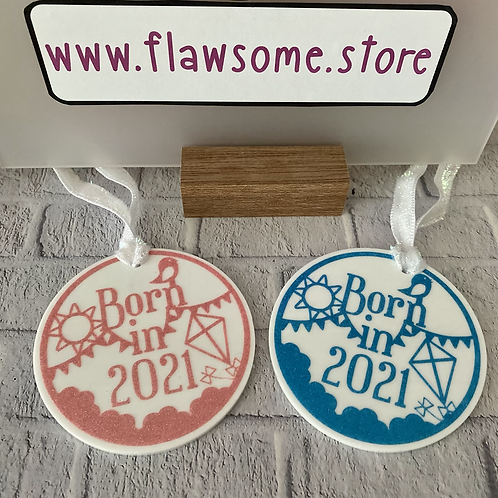 Born in 2021 Baby decoration