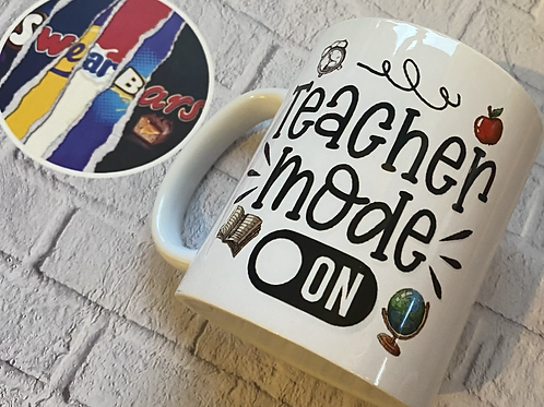 Teacher mode on mug
