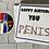 Thumbnail: Happy Birthday Dick/Penis card