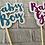 Thumbnail: Baby Girl or Baby Boy cake topper