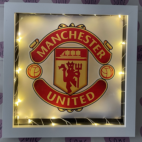 Sports Team Light Up Box Frames - ALL SPORTS TEAM AVAILABLE