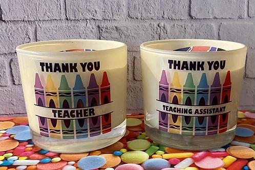 Teacher/Teaching Assistant candle