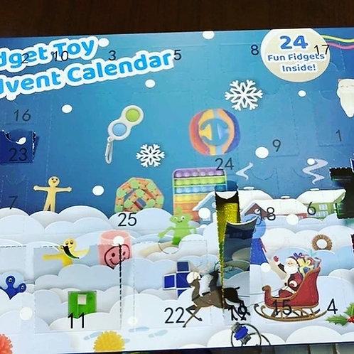 Fidget toy advent calendar