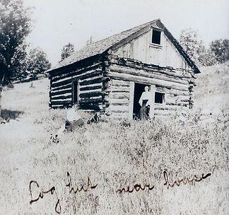Log hut near house.jpg