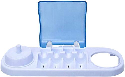 Base Doppio Con 4 Copri Testine Centrale per Oral-B