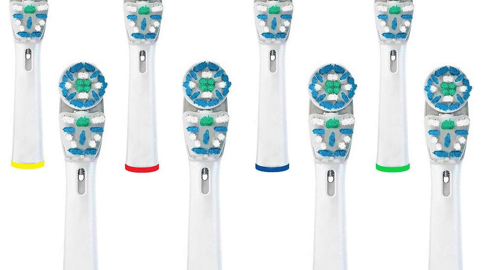 STARTPRO Ricambi per Spazzolino Elettrico Compatibile con Oral B Braun, 8 Pezzi