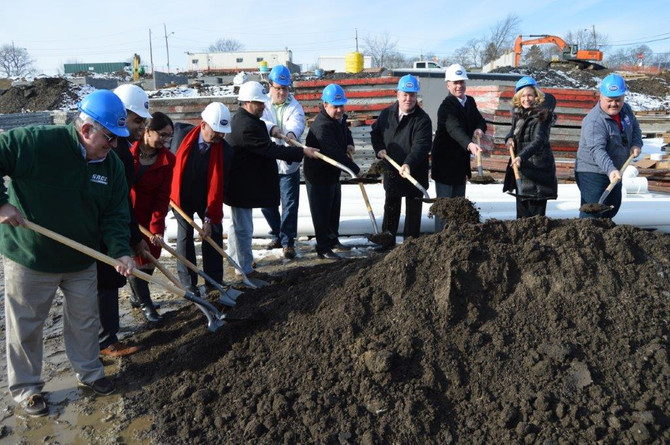 Prime Cos celebrates forthcoming Hudson Square luxury apartment complex with groundbreaking ceremony