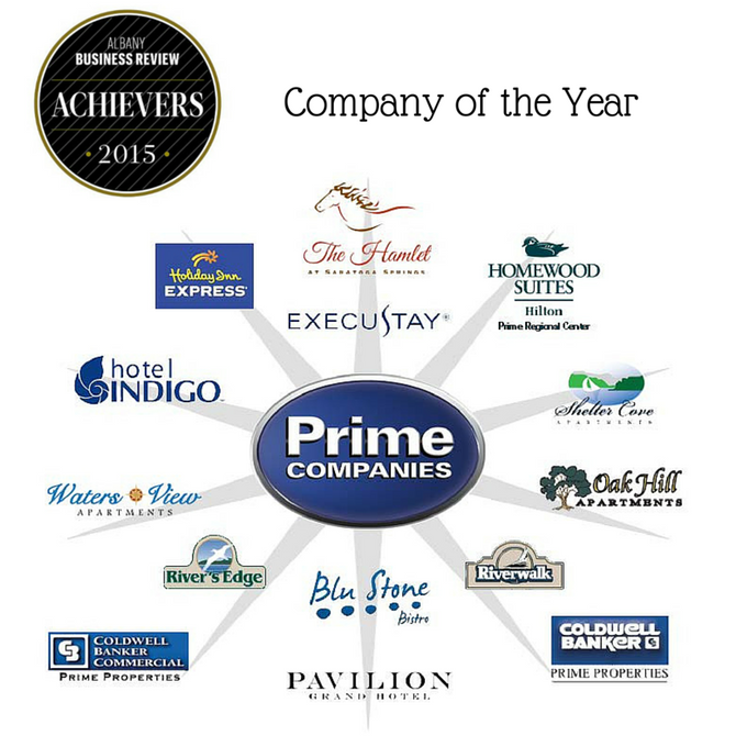 Prime Companies named Company of the Year by the Albany Business Review