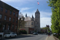 Cohoes City Hall - Romanesque Revival and Chateauesque Architecture