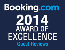 Pavilion Grand Receives 2014 Booking.com Award of Excellence