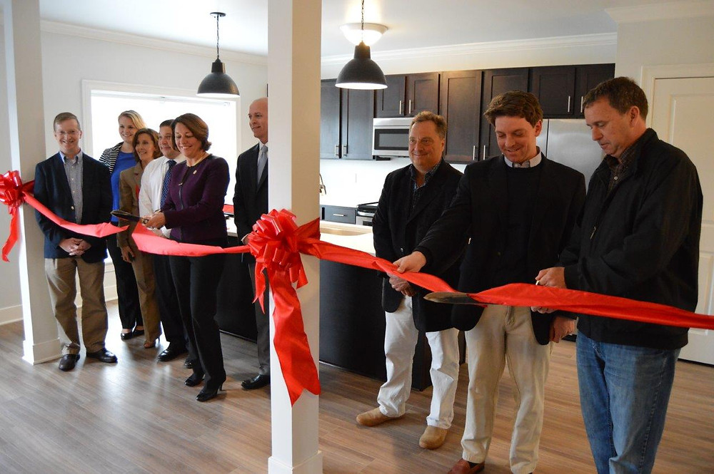 The Hamlet at Saratoga Springs Grand Opening Ribbon Cutting
