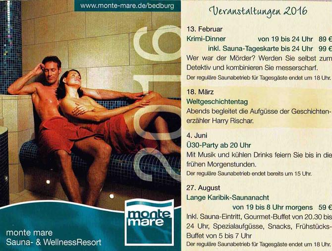 6. Weltgeschichtentag im monte mare Resort Bedburg: ein furioses Highlight