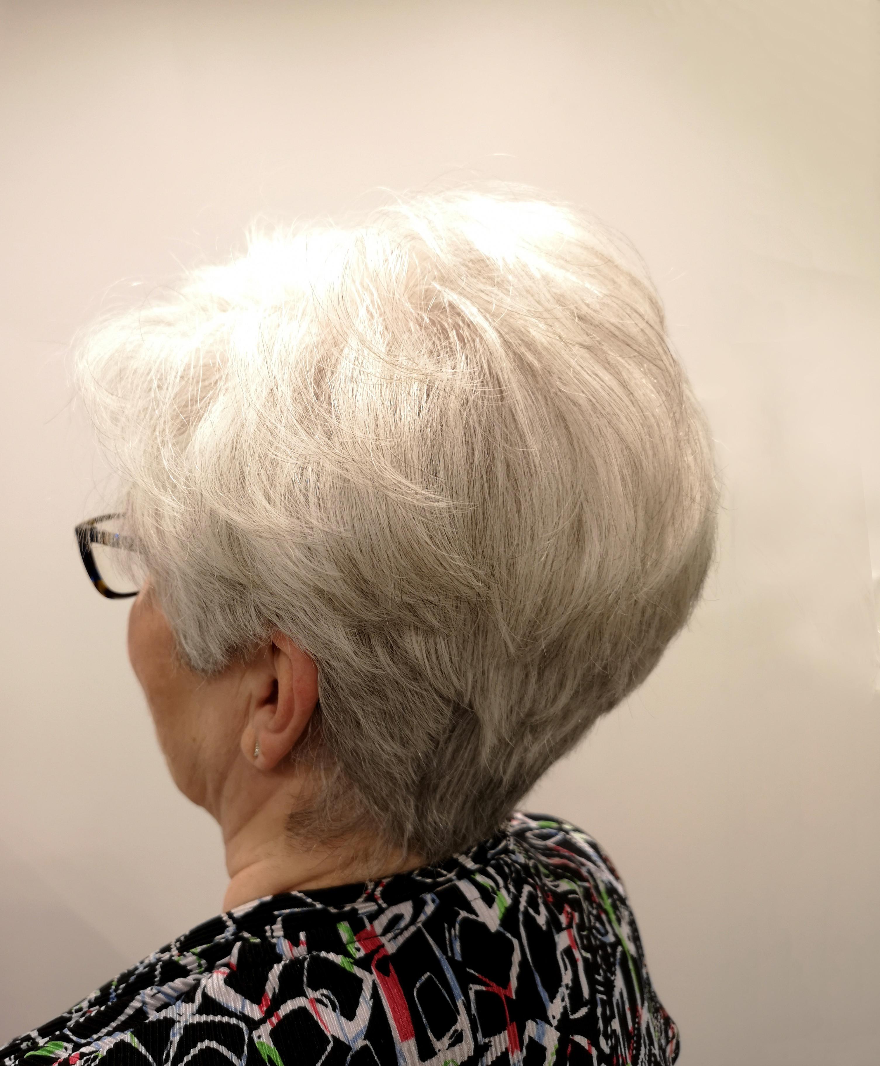 Cut Short Hair