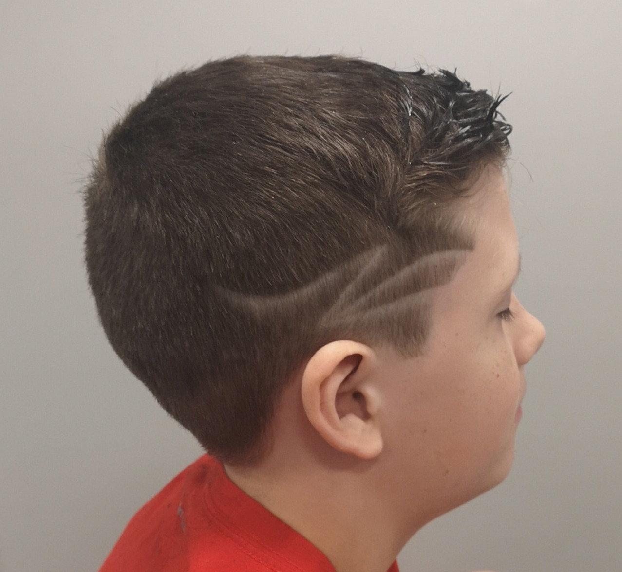 Child's Hair Tattoo