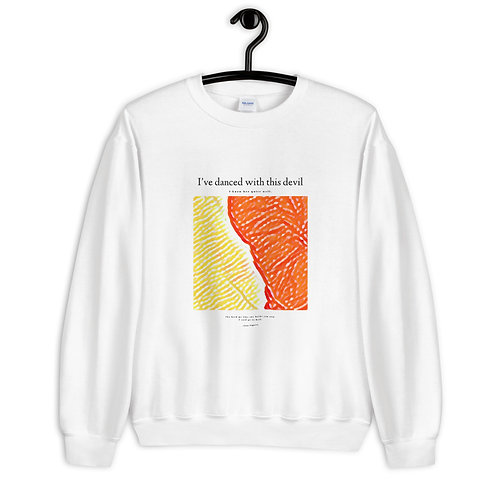 The 'This Devil' Unisex Sweatshirt Without Stella's Face