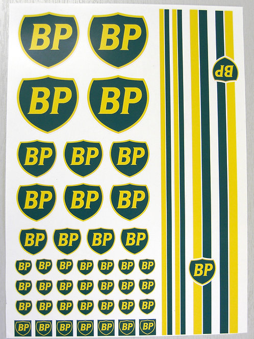RC BP 10th scale retro classic look Stickers Decals