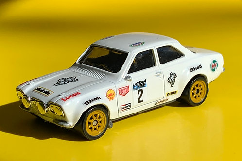 RAC RALLY 64th scale Diecast stickers designed to fit Matchbox and Hotweels cars